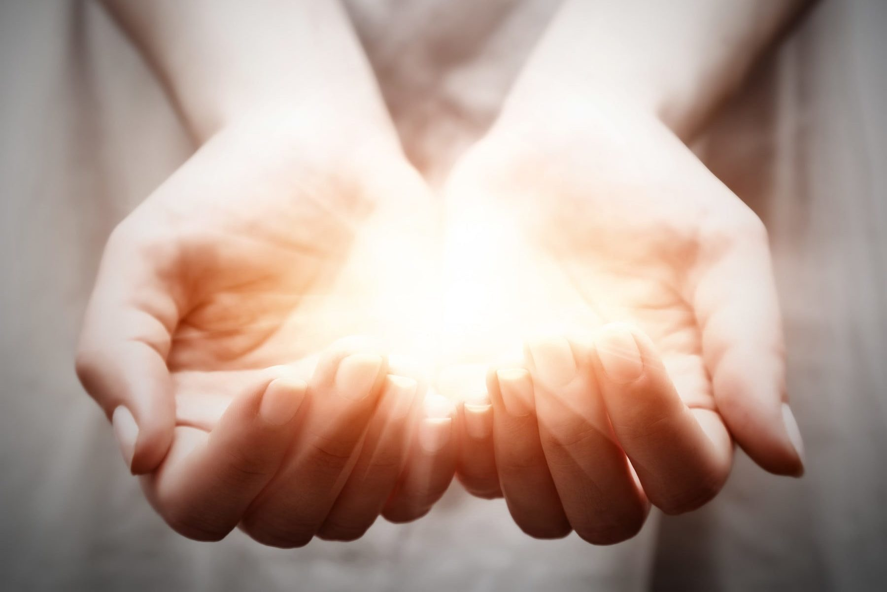 Reiki can feel like a gentle glow